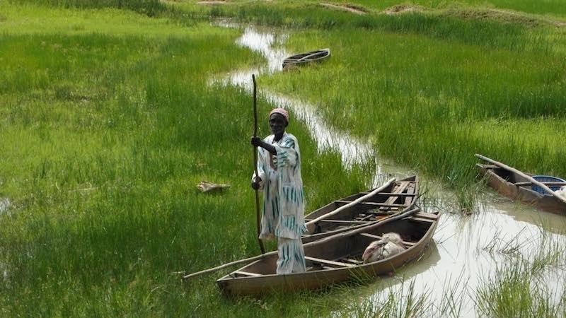 Dao Issouf pêcheur à la vallée du Kou